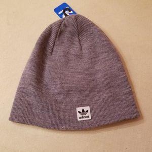 2/$26 NWT unisex Adidas Grey Knit Beanie